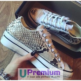 Converse All Star Platform Pitonate [Prodotto Customizzato]