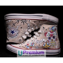 Converse All Star Teschio Messicano Love Hope Call It Magic