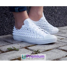 Converse All Star Borchiate Cone Total White